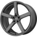 American Racing Blockhead Charcoal Wheels