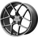 American Racing Crossfire Graphite Wheels