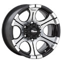 Dick Cepek DC2 Gloss Black Wheels