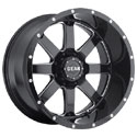 Gear Alloy 726MB Big Block Gloss Black Wheels
