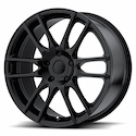 KMC Pivot Wheels Black [KM696 Wheels]