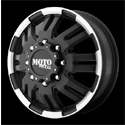 Moto Metal MO963 Dually Wheels Matte Black Front