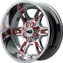 Moto Metal MO969 Wheels Chrome with Accents