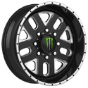 Monster Energy Edition 539BM Gloss Black Wheels
