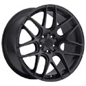 Motiv 409B Magellan Satin Black Wheels