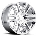Pacer 787C Benchmark Chrome Wheels