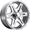 Ultra 208P Badlands Polished Wheels