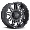Ultra 188BM Soldier Satin Black Wheels