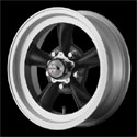 American Racing Torq Thrust D Wheels Satin Black [VN105 Wheels]