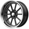 American Racing Draft Gloss Black Wheels