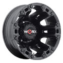 Worx 803SB Beast Dually Satin Black Rear Wheels
