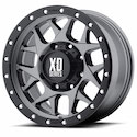 XD Series Bully Wheels Matte Gray/Black [XD127 Wheels]