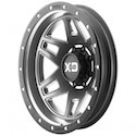 XD Series Machete Rear Dually Wheels Gray/Black [XD130 Wheels]