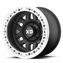 XD Series Machete Crawl Wheels Black/Machined [XD229 Wheels]