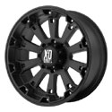 XD Series Misfit Wheels Matte Black [XD800 Wheels]