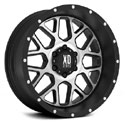 XD Series XD820 Wheels Satin Black/Machined