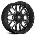 XD Series XD820 Wheels Satin Black/Milled