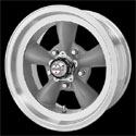 American Racing Torq Thrust D Wheels Gray [VN105 Wheels]