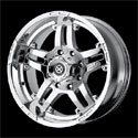 American Racing ATX Artillery Wheels Chrome [AX181 Wheels]