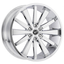 Platinum 270C Pivot Wheels Chrome