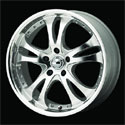 American Racing Casino Wheels Silver [AR383 Wheels]
