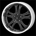 American Racing Casino Wheels Glossy Black [AR393 Wheels]