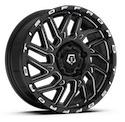 TIS 544BM Sprinter Van Gloss Black Wheels
