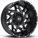Dropstars 652BM Wheels Satin Black/Milled
