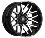 Dropstars 654MB Black/Machined Wheels