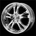 American Racing Casino Wheels Chrome [AR683 Wheels]