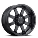 Gear Alloy 726B Big Block Satin Black Wheels