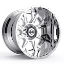 Gear Alloy 742C Kickstand Wheels Chrome