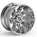 Gear Alloy 752C Slayer Chrome Wheels