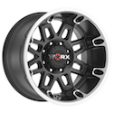 Worx 811U Conquest Wheels Satin Black/Diamond Cut