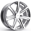 Cruiser Alloy 922C Kinetic Wheels Chrome