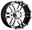 EAGLE ALLOYS SERIES 079 SUPER FINISH/BLACK TRIM WHEELS
