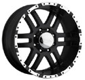 EAGLE ALLOYS SERIES 079 BLACK WHEELS
