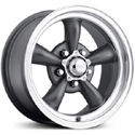 EAGLE ALLOYS SERIES 111 SUPERFINISH/GUNMETAL WHEELS