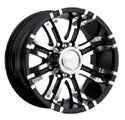 EAGLE ALLOYS SERIES 197 SUPER FINISH/BLACK TRIM WHEELS