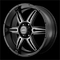 American Racing AR890 Wheels Satin Black/Machined