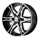 American Racing Mainline Wheels Glossy Black [AR893 Wheels]