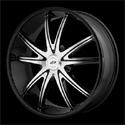 American Racing AR897 Wheels Glossy Black/Machined