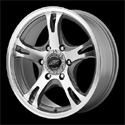 American Racing AR898 Wheels Dark Silver/Machined