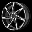 American Racing AR900 Wheels Glossy Black/Machined