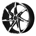 American Racing AR900 Wheels Satin Black/Machined