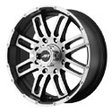 American Racing AR901 Wheels Satin Black/Machined
