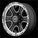 American Racing AR902 Wheels Satin Black/Machined
