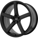 American Racing Blockhead Satin Black Wheels