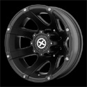 American Racing ATX Ledge Dually Wheels Teflon Rear [AX189 Wheels]