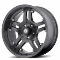 Buy ATX Series Artillery Wheels Cast Iron Black [AX181 Wheels] at Discount Prices from tiresbyweb.com by calling 800-576-1009.